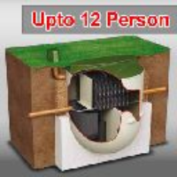 12 PERSON - CLEARWATER BIOTEC SEWAGE TREATMENT SYSTEM