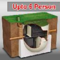 6 PERSON - CLEARWATER BIOTEC SEWAGE TREATMENT SYSTEM