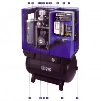 Variable Speed Drive Compressor Installation