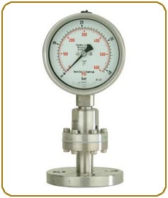 Diaphragm Seal and Hygienic Gauges
