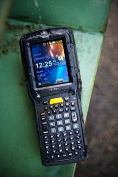 Psion mobile data collection terminals