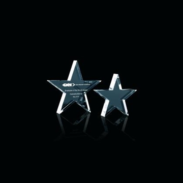 CRYSTAL STAR PAPERWEIGHT E54601
