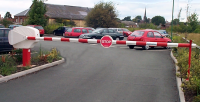 Automated Traffic Barrier Installation