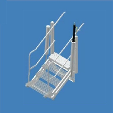 Wide Folding Stair