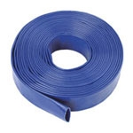 Layflat Pressure/Discharge Blue PVC Hose Supplier - Chesterfield
