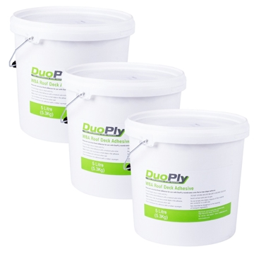 EPDM Rubber Roofing Water Based Deck Adhesive