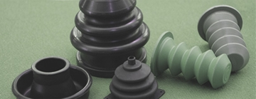 Rubber coated shims