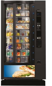 Crane Shopper 2 Refrigerated Food Machine