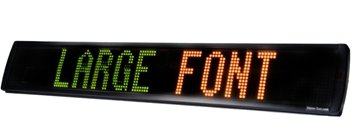 Economy LED Text Displays