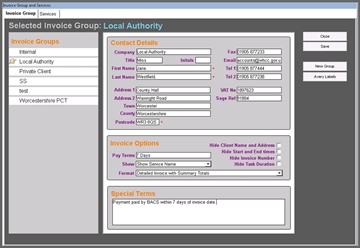 Home Care Invoicing Software