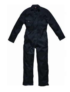 Dickies WD4819 Black Overall Studded