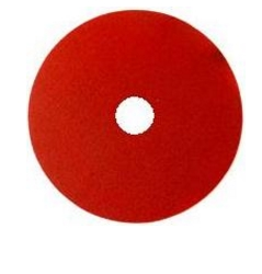 "Abracs 115mm (4 1/2"") 36g Red Ceramic Sanding Disc (25)"