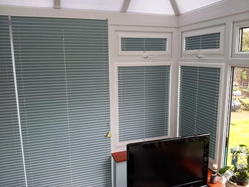 Fabric Pleated Blinds