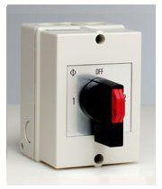 Changeover Switch with Centre Off Insulated Enclosure