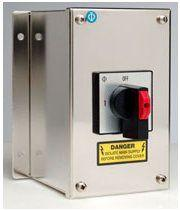 Changeover Switch with Centre Off Stainless Steel Rnclosure