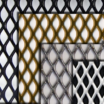 Expanded Steel Grille Mesh
