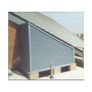 Fixed blade external louvres 75 series