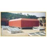 Movable blade external louvres