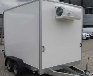 Refrigerated Box Trailer Hire