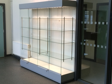 Sports trophy cabinets