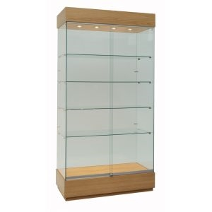 Glass Football Club Trophy Cabinets