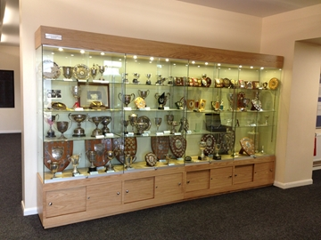 Trophy Cabinets for Schools in Derbyshire