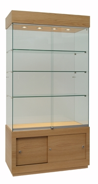 School trophy cabinets in Derbyshire