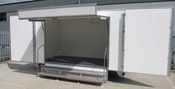 Second Hand Tow Master Event Trailers