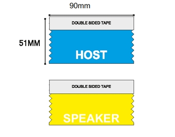 Event Host Ribbon for conferences and events