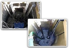 Pump Chamber Cleaning