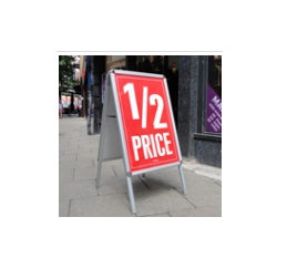Pavement Signs & A-Boards From Uneek Impressions