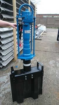Handheld Post and Pile Driver