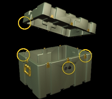 Roto-Moulded Cases Manufacturers and Suppliers