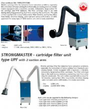 Cartridge Filter Unit With 2 Suction Arms