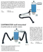Cartridge Filter Unit With Suction Crane