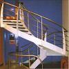Curved Stringer Staircases