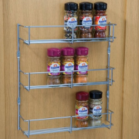 3 tier spice and packet rack, 300 mm hole centres