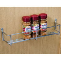 1 tier spice and packet rack, 300 mm hole centres