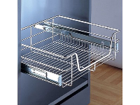 pull-out storage basket for cabinet width: 900 mm, width: 864 mm