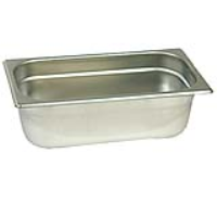 1/3 gastronorm ba13150 stainless steel food containers and pan