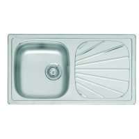 fin10rnoh inset sink and drainer stainless steel sink no overflow