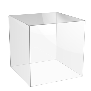 Acrylic Product Display Cube Stands