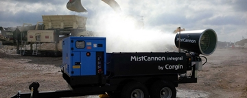 MistCannon Large Scale Dust Suppression Unit
