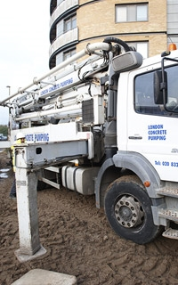 Residential Concrete Pumping Services