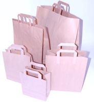 Paper Carrier Bags - Brown