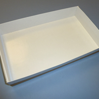 Oven Proof Brown Baking Tray