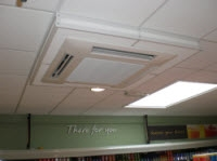 Air Conditioning Security Cages