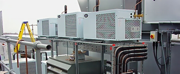 Air Cooled to Water Cooled Condensers Conversion