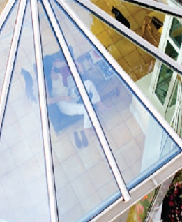 Conservatory Toughened Glass