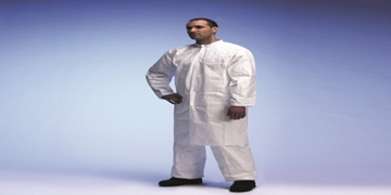 TYVEK STUD LAB COAT (3 PKTS)
